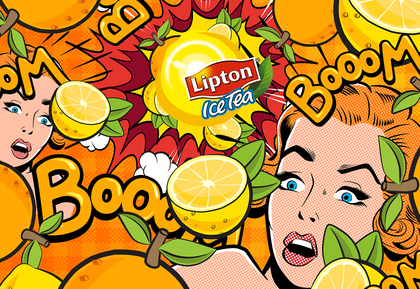 Lipton Fruit Punch Sylvain Botter