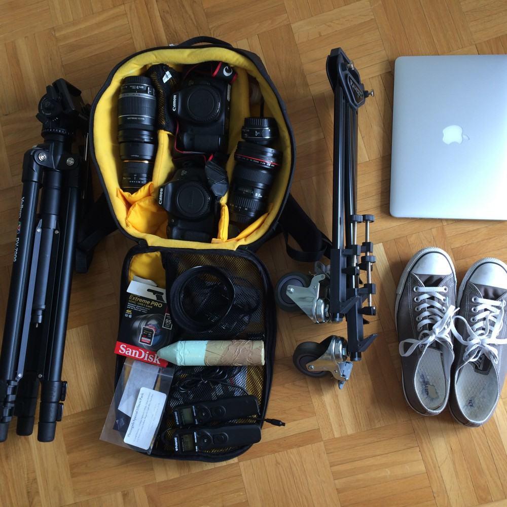 The Lausanne Experience / Sylvain Botter / Equipment for hyperlapse